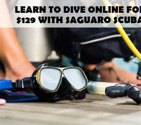 learn to scuba dive arizona PADI