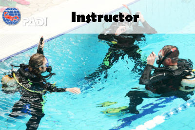 PADI ONLINE INSTRUCTOR COURSE