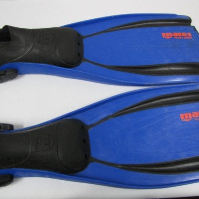 Used Fins Mares Plana Avanti XL with Spring Straps