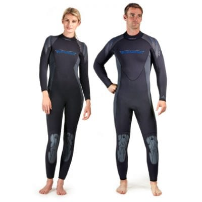 AKONA 3mm Mens Quantum Stretch Full Suit