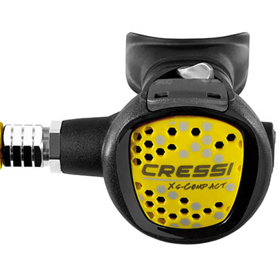 CRESSI COMPACT OCTOPUS - ONLY BODY - YELLOW