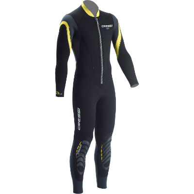 CRESSI MENS 2.5MM BAHIA FULL SUIT FRONT ZIP