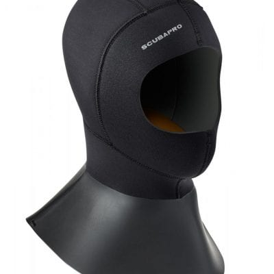 SCUBAPRO Everflex Hood Bibbed 6/5 mm - Black