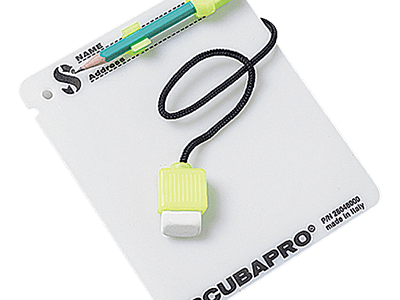 SCUBAPRO Slate with pencil - Glow
