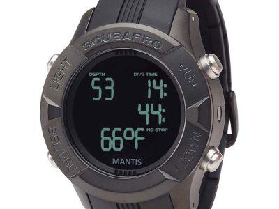 ScubaPro Mantis 1.0 Black Wrist Computer