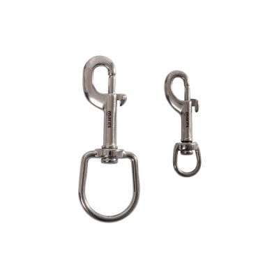 Mares Dead Bolt Snap Stainless Steel - Xr Line