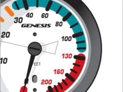 Genesis Scuba 200ft. In-Line Console