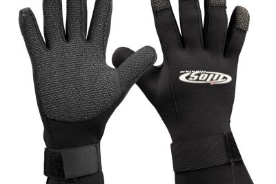Tilos 3mm Rhinoskin Velcro Gloves