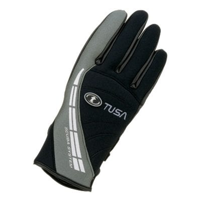 Tusa 2mm Dive Glove - Black