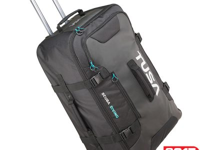 Tusa Large Roller Bag - Black