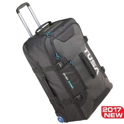Tusa Large Roller Bag - Black