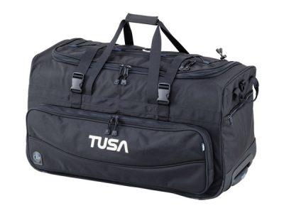 Tusa Roller Duffle Bag - Black