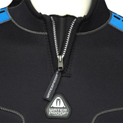 Waterproof Molded Neck Velcro Tab For Wetsuits
