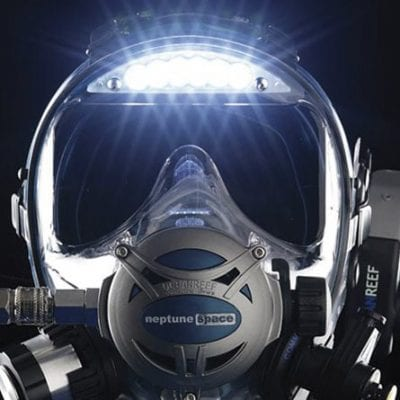 Ocean Reef Predator with Visor Light
