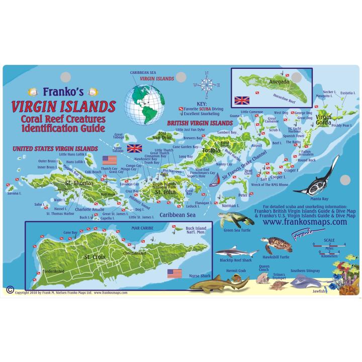 Franko Aruba Fish ID Card