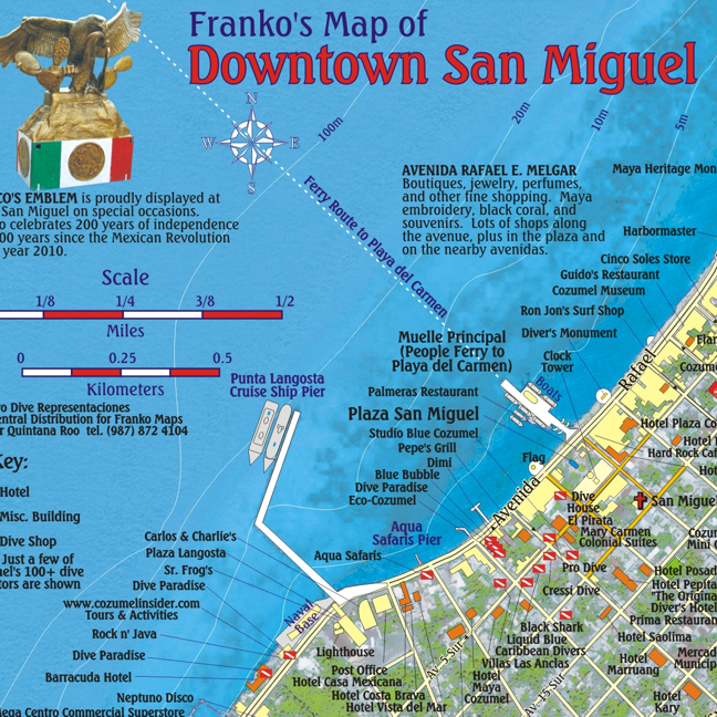 Franko Cozumel Guide and Dive Map on cozumel all inclusive prices, dubai hotel map location, cozumel mexico location, singapore hotel map location, cozumel map.pdf, playa del carmen hotel map location, myrtle beach hotel map location, cozumel resorts, curacao hotel map location, secrets aura cozumel location, sunscape sabor cozumel island location, cozumel mercado, cozumel country club, chicago hotel map location, las vegas hotel map location,