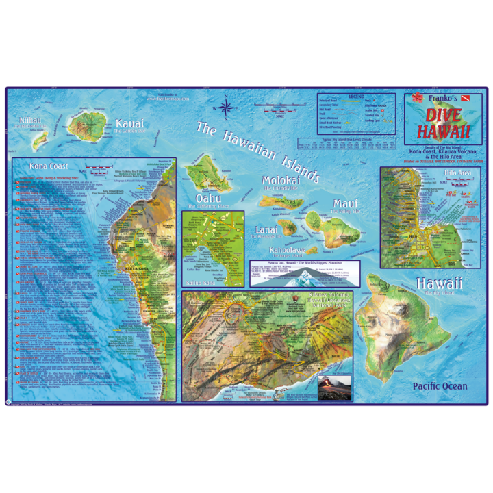 Franko Hawaii Dive Map, The Big Island on map of maui, map of ballast point, map of honolulu, map of hanalei, map of oahu, map of holualoa, map of makawao, map of coral baja, map of kohala coast, map of kiholo bay, map of southern tier, map of kauai marriott resort, map of tiki, map of kahului, map of kunia, map of scott, map of redline, map of hawaii, map of west palm beach airport, map of hilo,