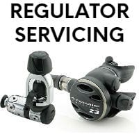 scuba regulator servicing