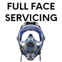 full face mask servicing