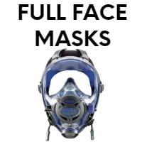 full face masks scuba