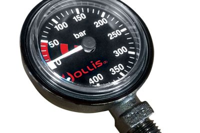 Hollis Pressure Gauge Module Bar Metal w/o boot
