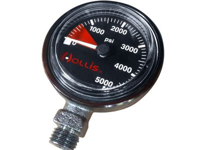 Hollis Pressure Gauge Module PSI Low Pressure Metal w/o Boot