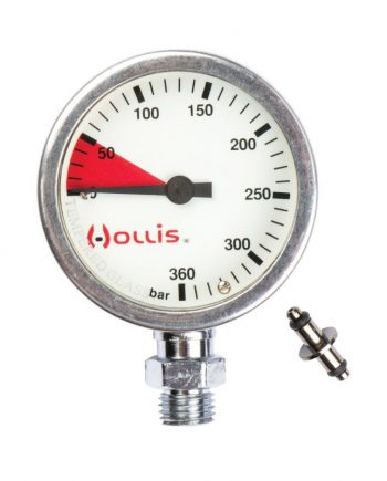 Hollis Pressure Gauge Module Metal w/o boot