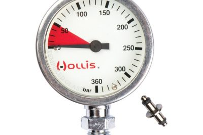 Hollis Pressure Gauge Module Metal w/o boot