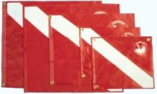 FLAG, 24 inch x 26 inch W/ STIFFENER PLASTIC