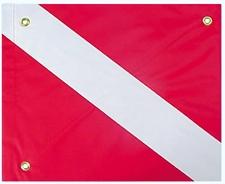 FLAG DIVER SLIP ON W/GROMMETS & STIFFENER 14 inch X 16 inch