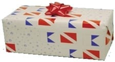 GIFT WRAPPING PAPER FLAG DESIGN