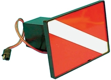 HITCH COVER FLAG LIGHTED