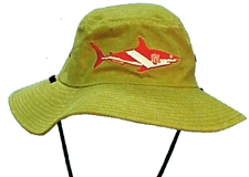 HAT FLOPPY W/ SHARK