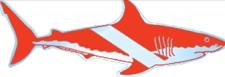 STICKER FLAG W/SHARK