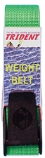 "WEIGHT BELT 2"" NYLON W/DELRIN BUCKLE BLACK"