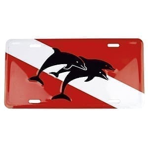 DOLPHIN LICENSE PLATE