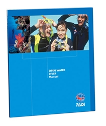 PADI OPEN WATER MANUAL W/ TABLE