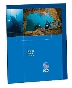 PADI WRECK DIVER SPECIALTY MANUAL